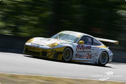 #24 Alex Job Racing Porsche 911 GT3 RSR: Romain Dumas, Marc Lieb