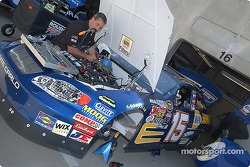 The #15 NAPA Chevrolet gets ready for Friday practice