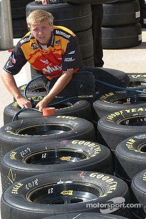 Les pneus sont prêts pour la Ford Motorcraft