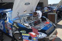 Mark Martin team prepares the n°6 Viagra Ford