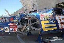 La Chevrolet n°15 NAPA se prépare pour les essais du vendredi