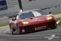 #35 Risi Competizione Ferrari 360 Modena: Anthony Lazzaro, Ralf Kelleners