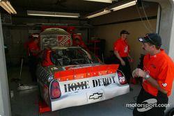 Área de garage de Joe Gibbs Racing