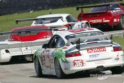 La Porsche GT3 Cup n°36 de TPC Racing (Michael Levitas, Jean-François Dumoulin)