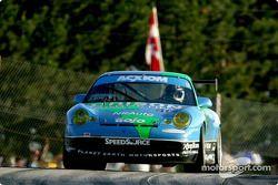 La Porsche GT3 Cup n°41 du Orison-Planet Earth Motorsports (Joe Nonnamaker, Wayne Nonnamaker)