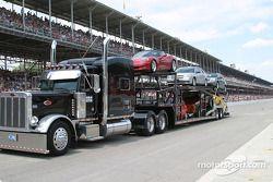 Les Chevrolet dans la parade