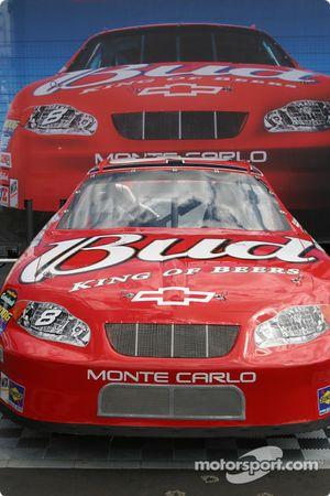 Dale Earnhardt Jr. car on display
