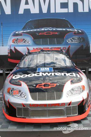 Kevin Harvick car on display
