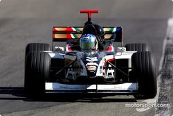Gabriele Lancieri drives the Minardi F1x2