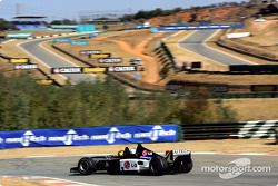 Alan van der Merwe drives the Minardi F1x2