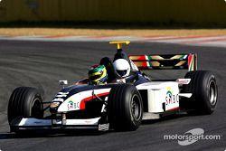 Alan van der Merwe pilote la Minardi F1x2