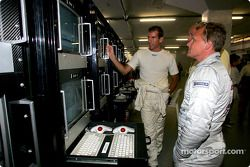 Ralph Firman and Johnny Herbert