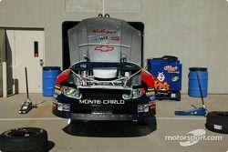 Le garage de la Hendrick Racing