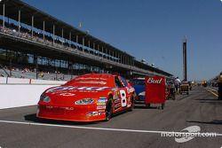 La Chevrolet de Dale Earnhardt Jr. dans la ligne des qualifications