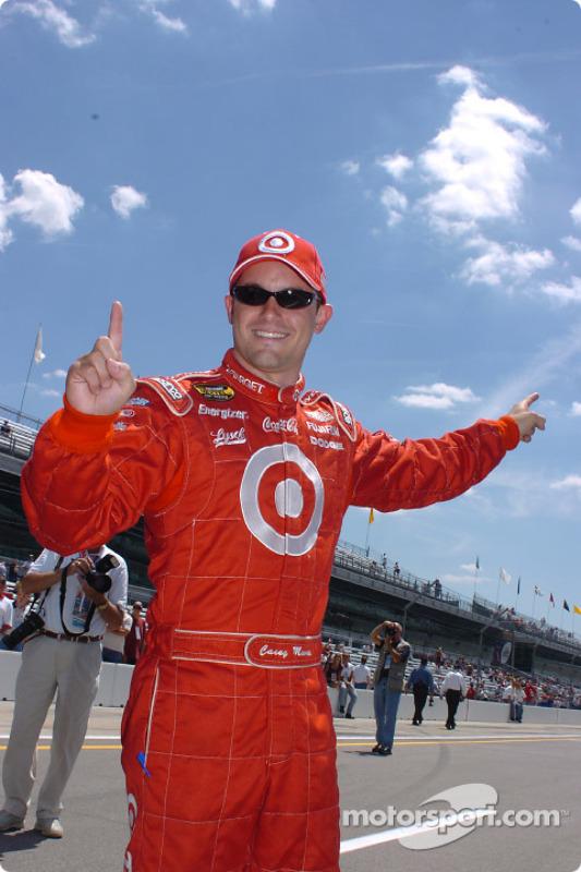 Pole winner Casey Mears