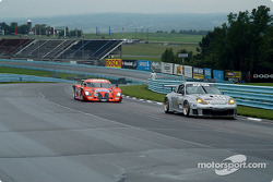 La Porsche GT3 RS n°44 du Orbit Racing (Jay Policastro, Joe Policastro, Mike Fitzgerald) et la Ponti