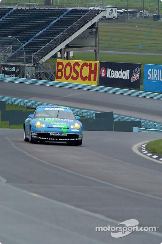 La Porsche GT3 Cup n°41 du Orison-Planet Earth Motorsports : Craig Stanton, Wayne Nonnamaker