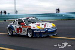 La Porsche GT3 RS n°57 du Stevenson Motorsports / Auto Assets : Chip Vance, John Stevenson