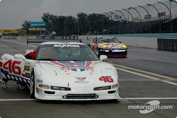 La Corvette n°46 du Michael Baughman Racing : Michael Baughman, Mike Yeakle