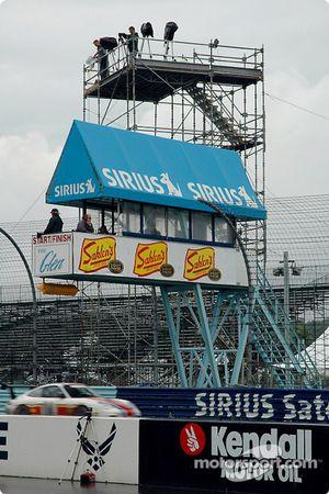 Watkins Glen International start-finish tower