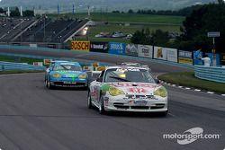Tours de chauffe : la Porsche GT3 Cup n°37 TPC Racing : John Littlechild, Spencer Pumpelly