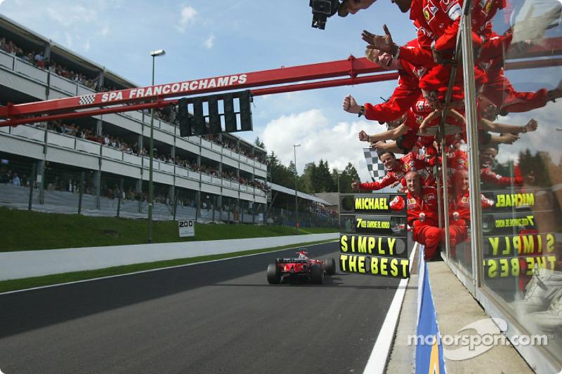 GP Belgien 2004