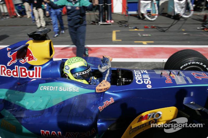 2004: лучшая гонка за время выступлений в Sauber