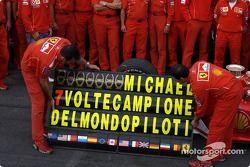 Seven Dünya Şampiyonasıs for Michael Schumacher