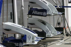 Williams noses: the old and the new version appeared at the Hungarian GP