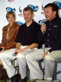 GM - Richard Childress Racing press conference: Jeff Burton and Richard Childress