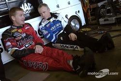 Jeff Burton y Mark Martin