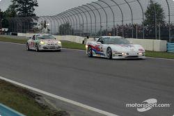 La Corvette n°46 Michael Baughman Racing : Michael Baughman, Mike Yeakle, et la Porsche GT3 Cup n°37