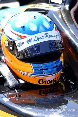 Helmet of Bryan Sellers