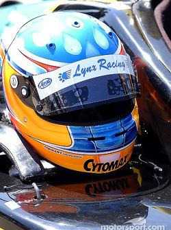 Helmet of Bryan Sellers
