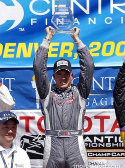 Podium: race winner Ronnie Bremer