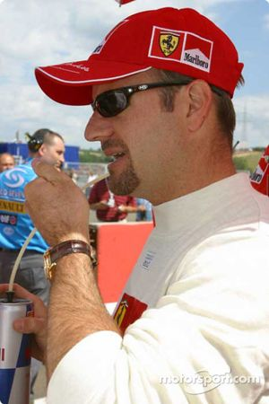 Rubens Barrichello gridde