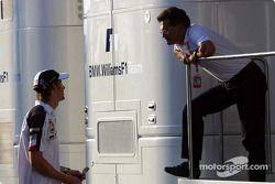 Jenson Button y Dr Mario Theissen