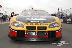 Rusty Wallace's car on the grid