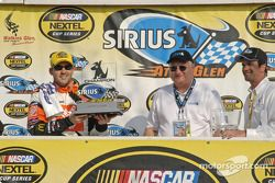 Tony Stewart and the Sirius trophy