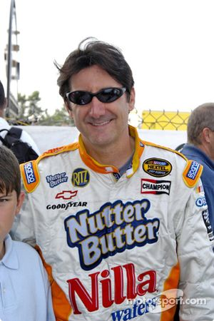 Ron Fellows took second place