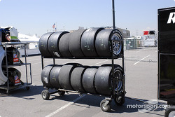 Les pneus sont prêts