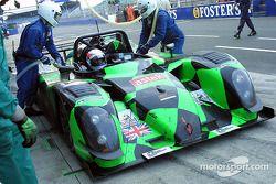 La n°14 Nasamax : Werner Lupberger, Robbie Stirling, Romain Dumas