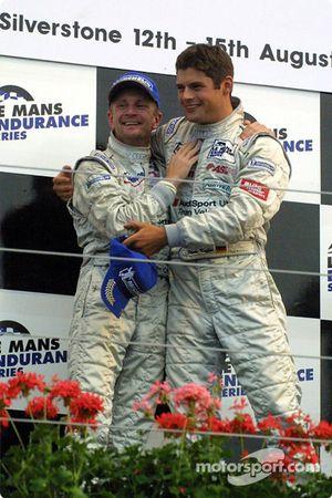 Allan McNish et Pierre Kaffer