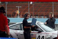 Orbit Racing pit area