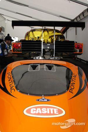 Casite backing for the Spirit of Daytona Team