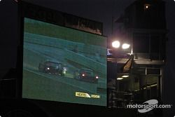 Jumbo screens show well at night