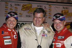 Didier Theys, Kevin Doran and Jan Magnussen
