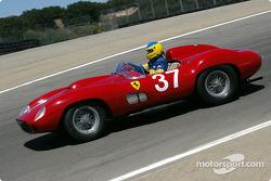 #37 1957 Ferrari 335 Sport, Peter Sachs