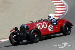 N°100 1953 Morgan TT Special, Dennis Glavis