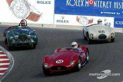 N°10 1954 Maserati A6GCS, Tom Mittler, n°63 1952 Jowett Jupiter, Scott Renner